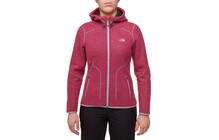 The North Face Women&#039;s Zermatt Full Zip avec capuche teaberry ro